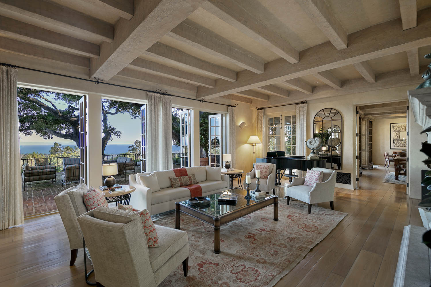 900 Knollwood Drive Montecito offered by Riskin Partners Real Estate Group