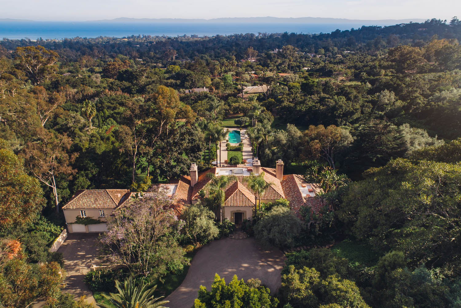 Property for Sale: 691 Picacho Lane, Montecito, CA 93108 List Price: $16,500,000 4 Beds 5 Full Baths 1 Half Bath Main House 6,394 Sq Ft 3 Beds 1 Full Bath 1 Half Bath Guest House 1,421 Sq Ft Picacho Paradise!