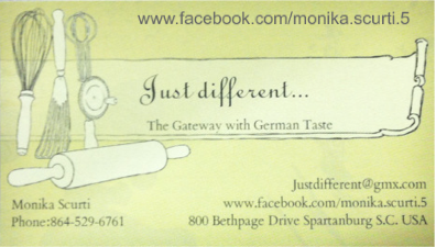 Just different... The Gateway with German Taste. By Monika Scurti.