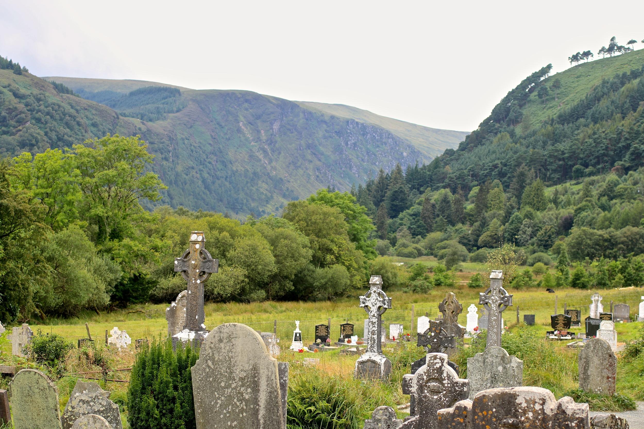 The Monastery in Glendalough.