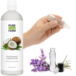 Top 5 Essential for Esesntial Oils - Fractionated Coconut Oil | www.barbellsandbaking.com