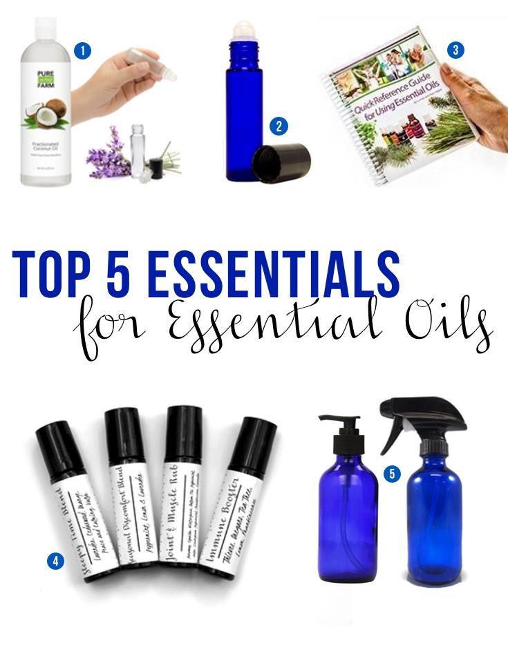 Top 5 Essentials for Essential Oils | www.barbellsandbaking.com