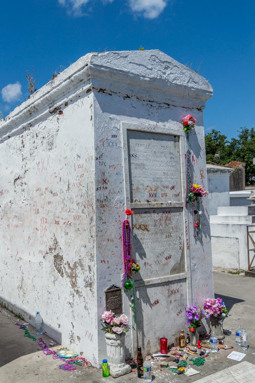 Tomb of the Voodoo Queen Marie Laveau
