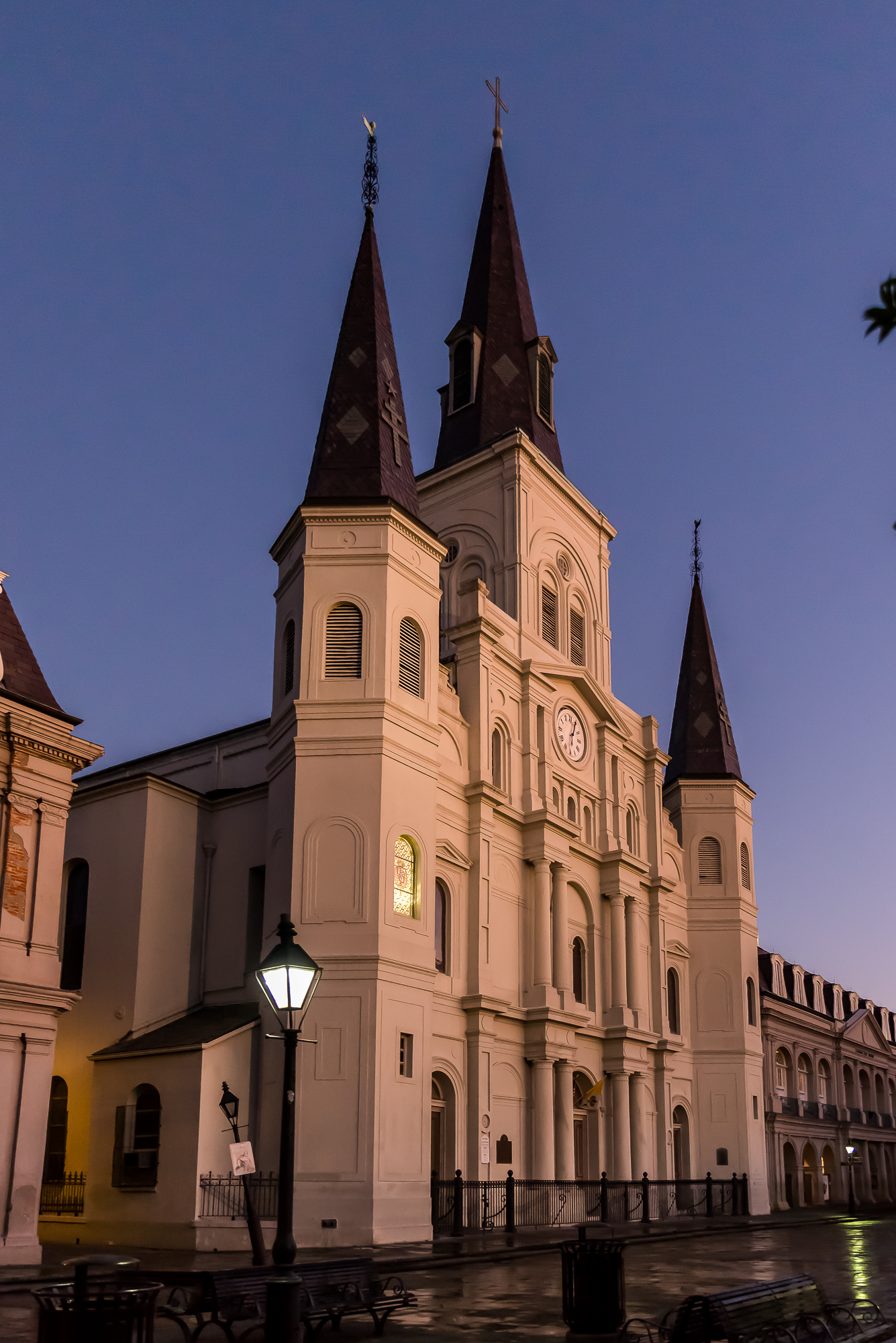 Dawn at the Saint Louis Cathedral