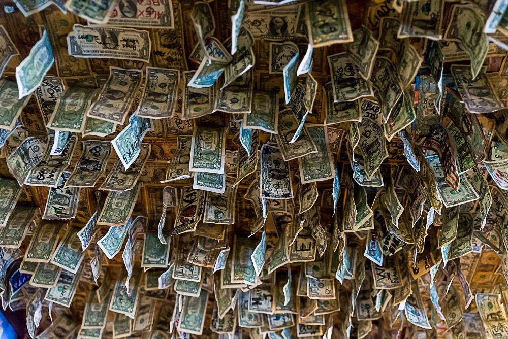 Money in the Oatman Hotel