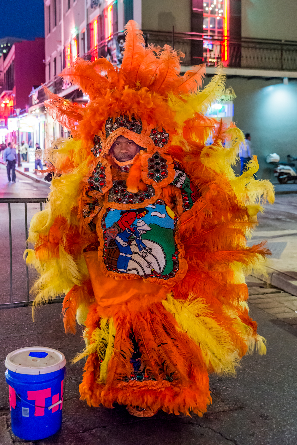 Mardi Gras Indian in All his Glory