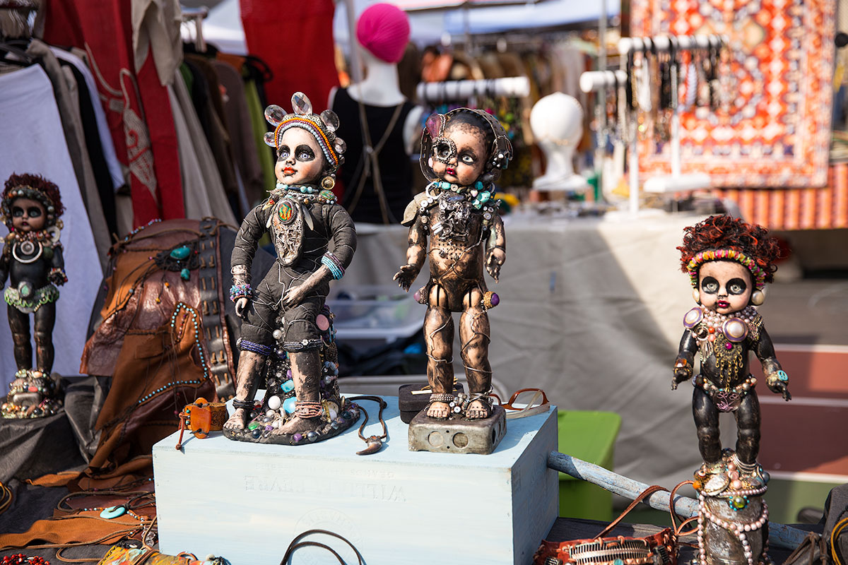 Flea Market in NYC