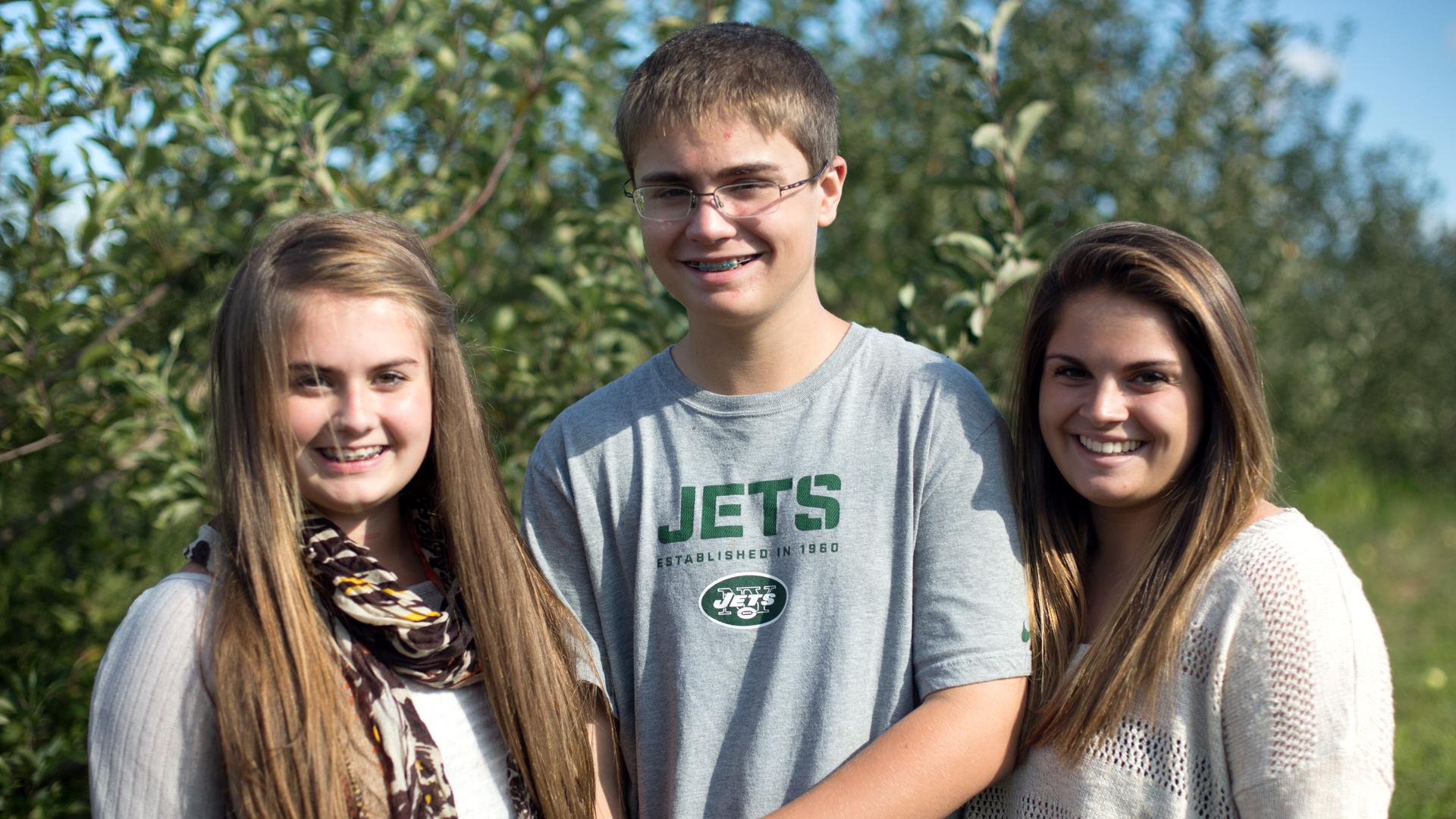 Kylie, Nicholas, Alexandra...October 2013