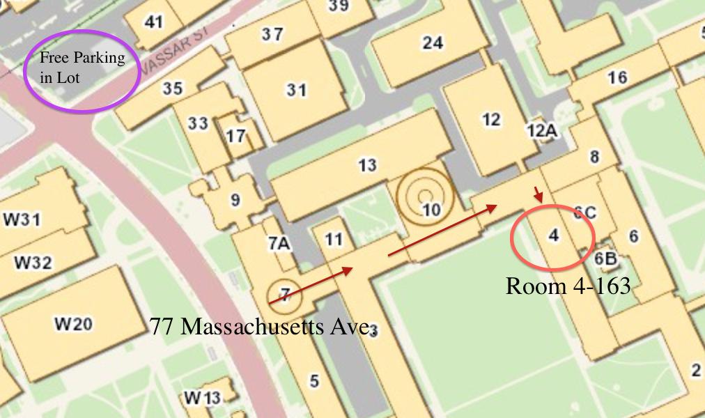 MIT Map for Sunday Training