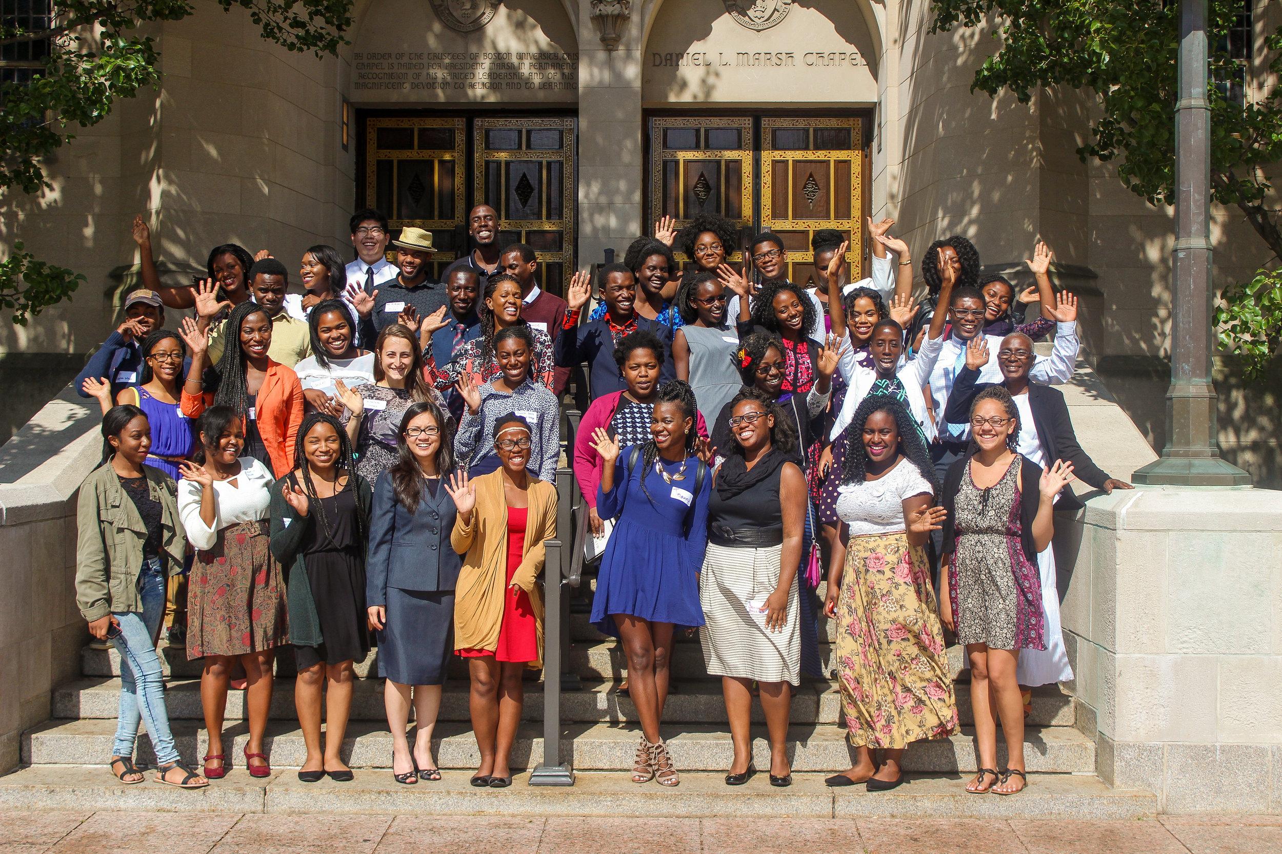 Students at STRIDE's annual Collegiate Summit.Boston University 2015.