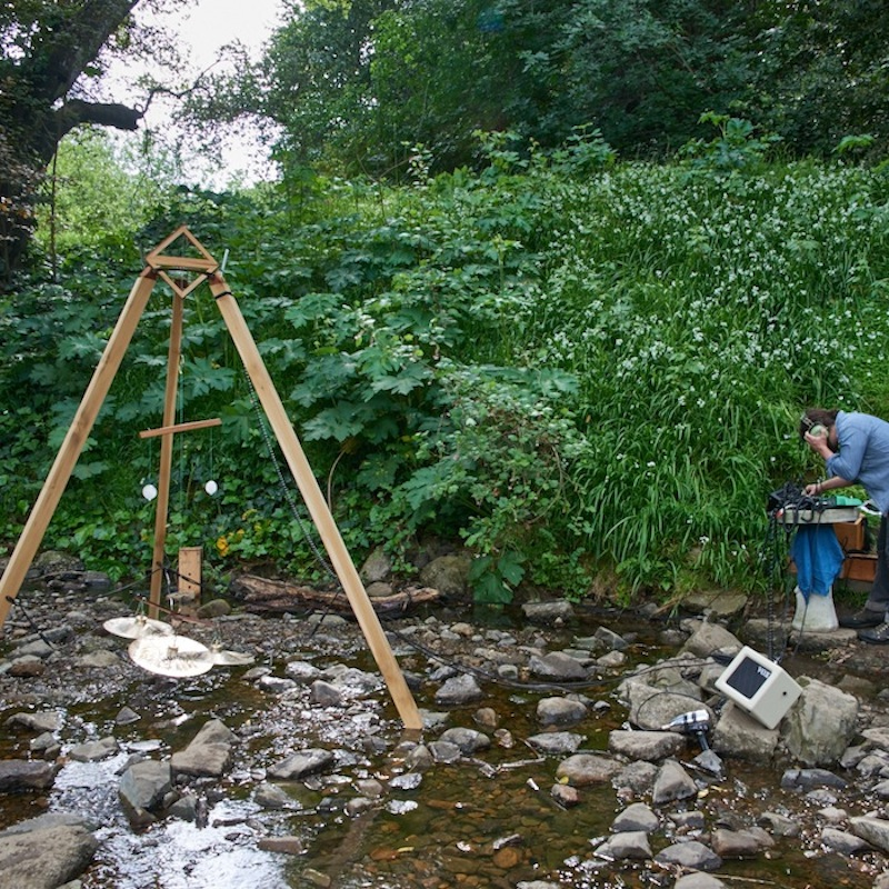 The Ice Instrument in Sausal Creek at Echoes