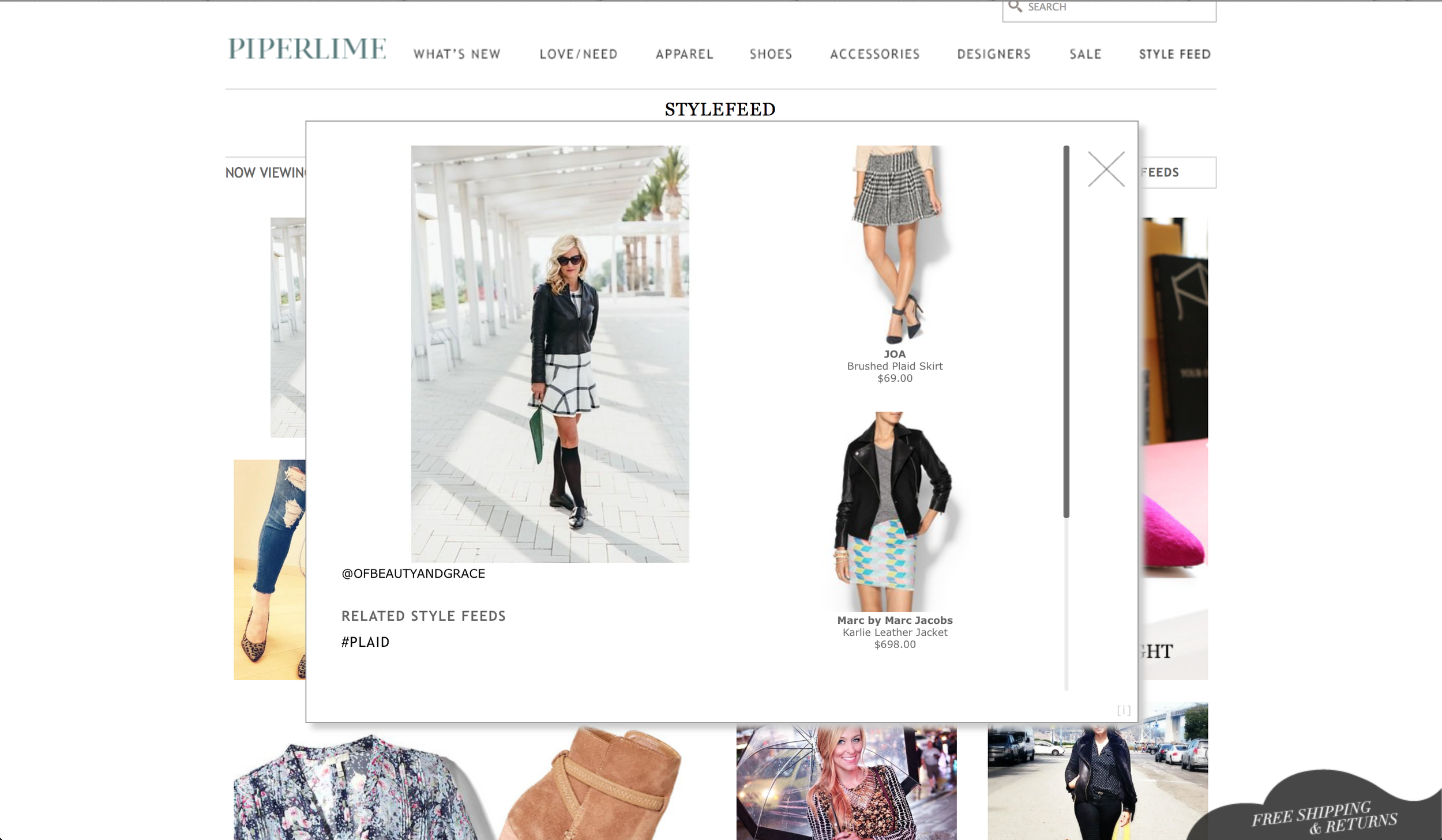 Featured on Piperlimes Style Feed.