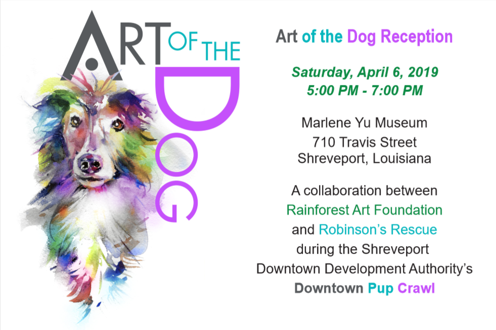 Art of the Dog Reception Postcard Front.png