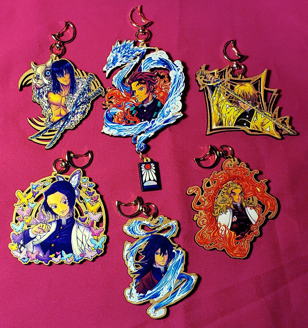 Wooden Charms