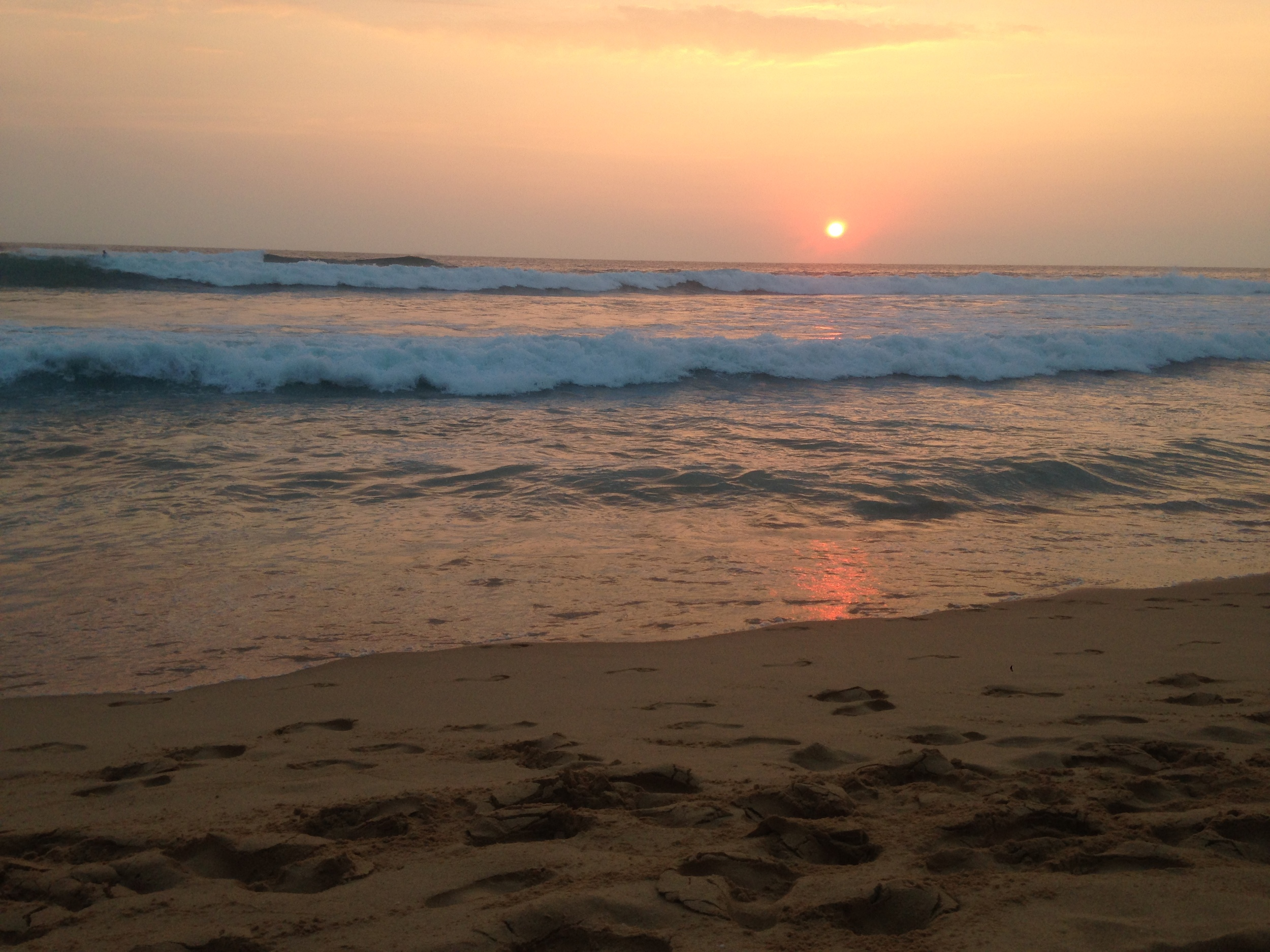 Sunset in HIkkaduwa.