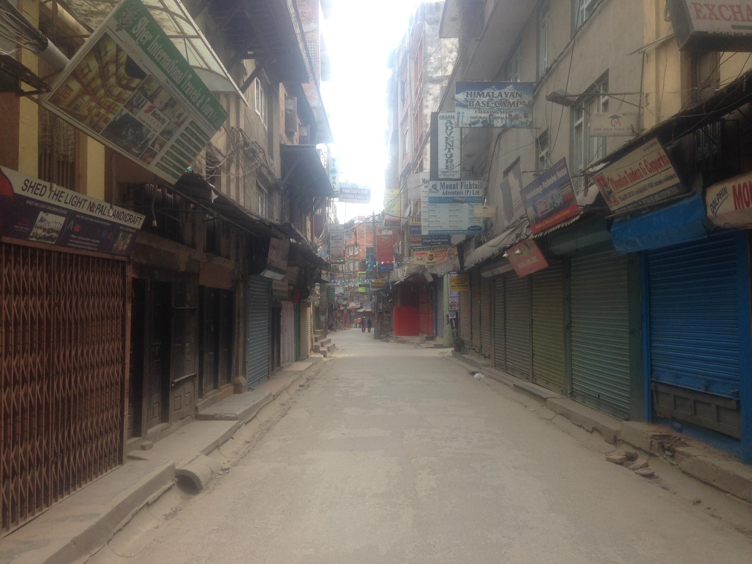 Thamel, Kathmandu.