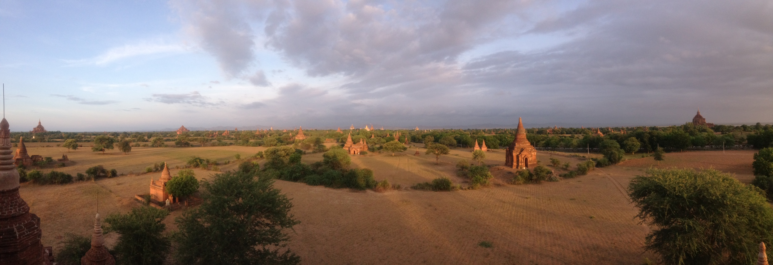 Bagan at sunrise.