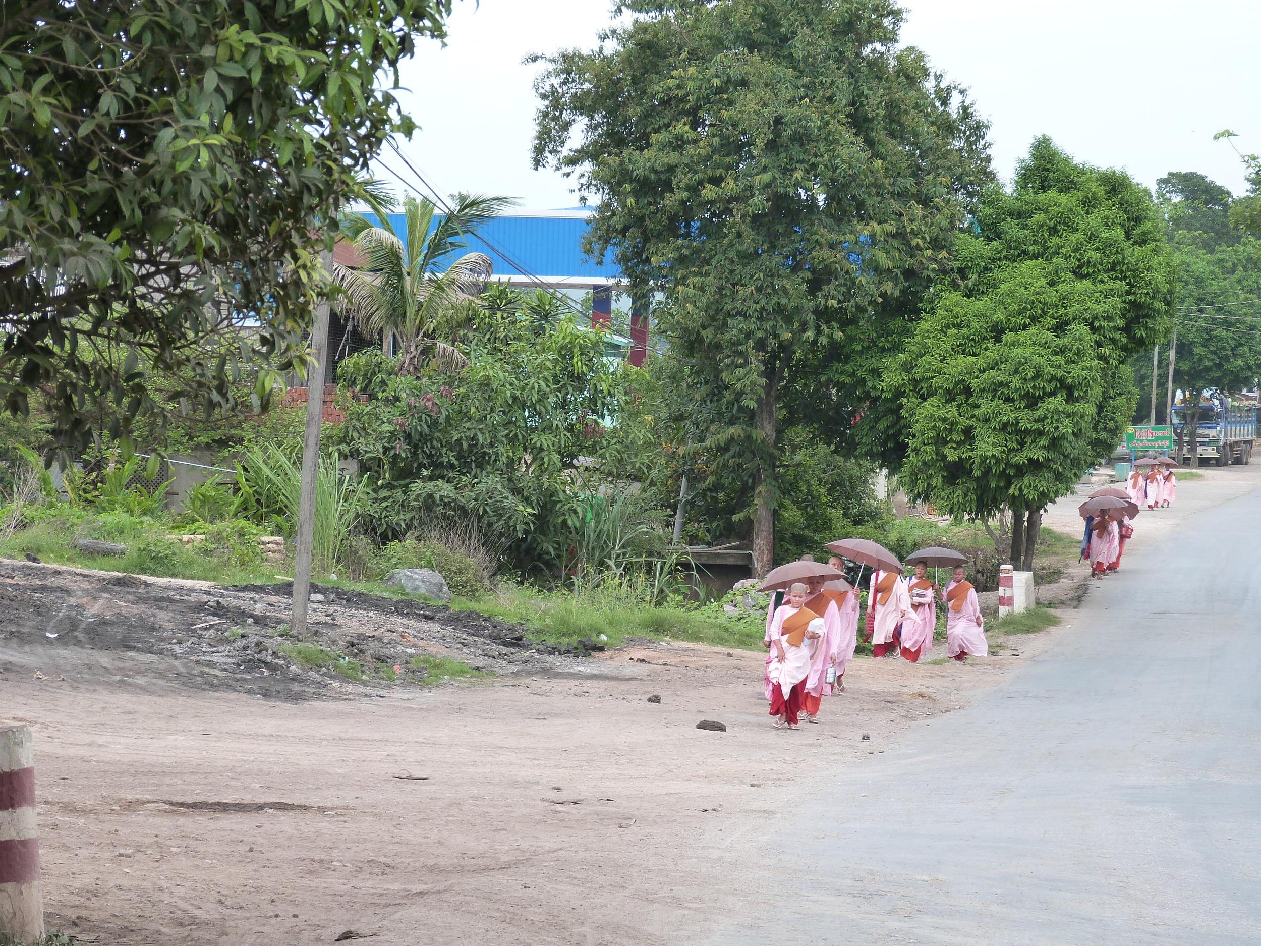 Young nuns on a stroll*Photo courtesy of Sarah Frenz
