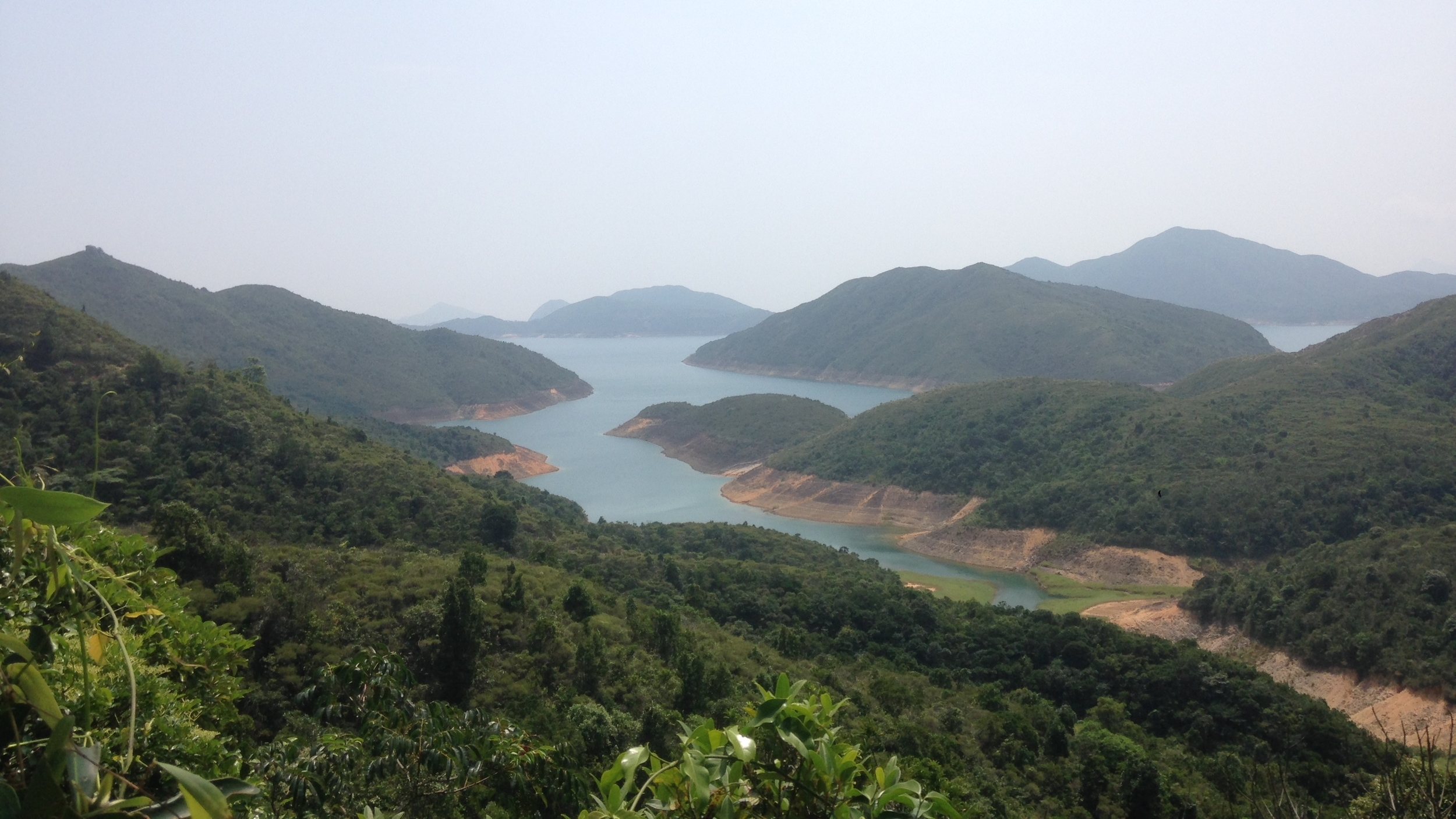 The view hiking to Sai Wan