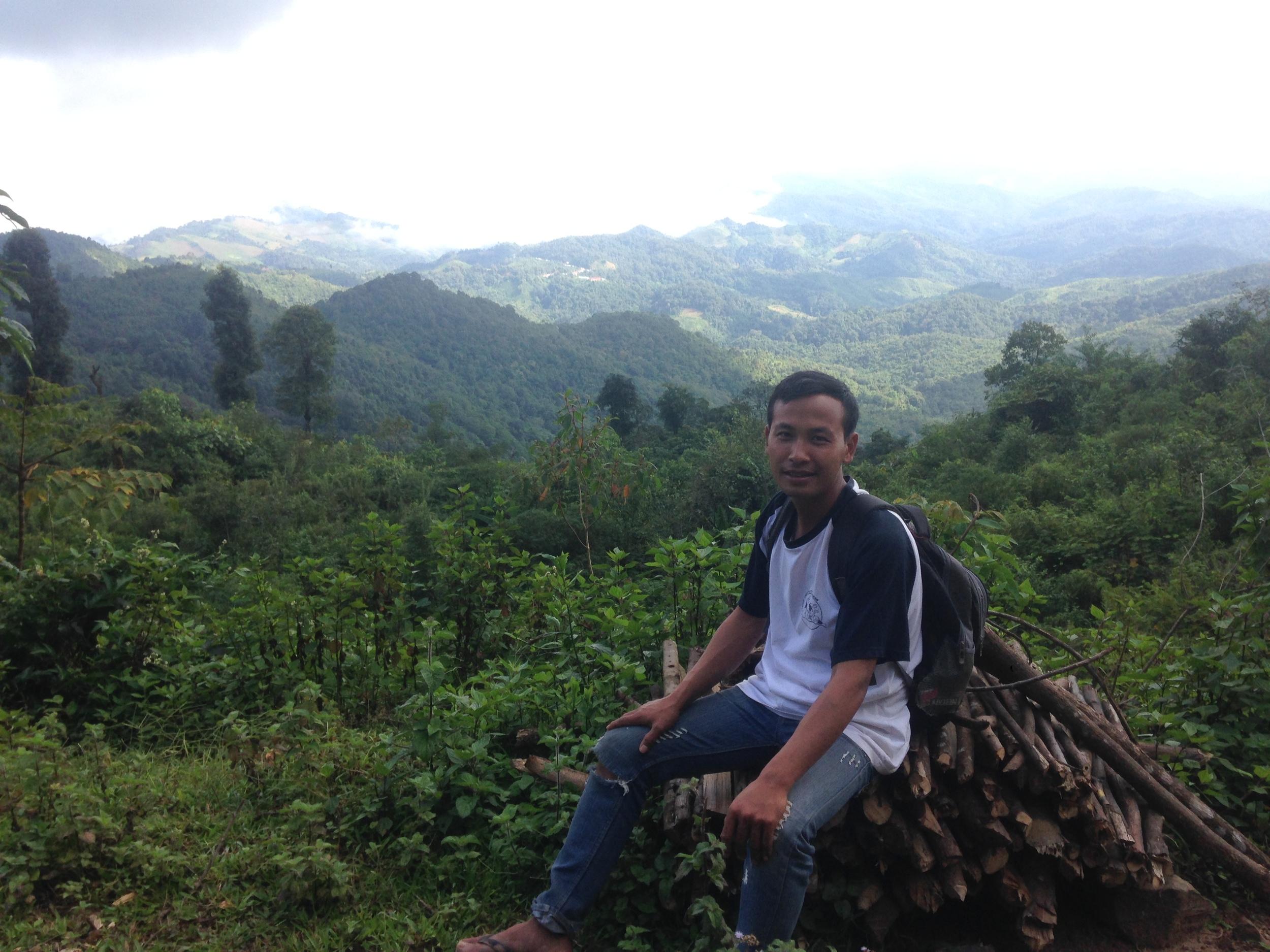 Our guide Vilak