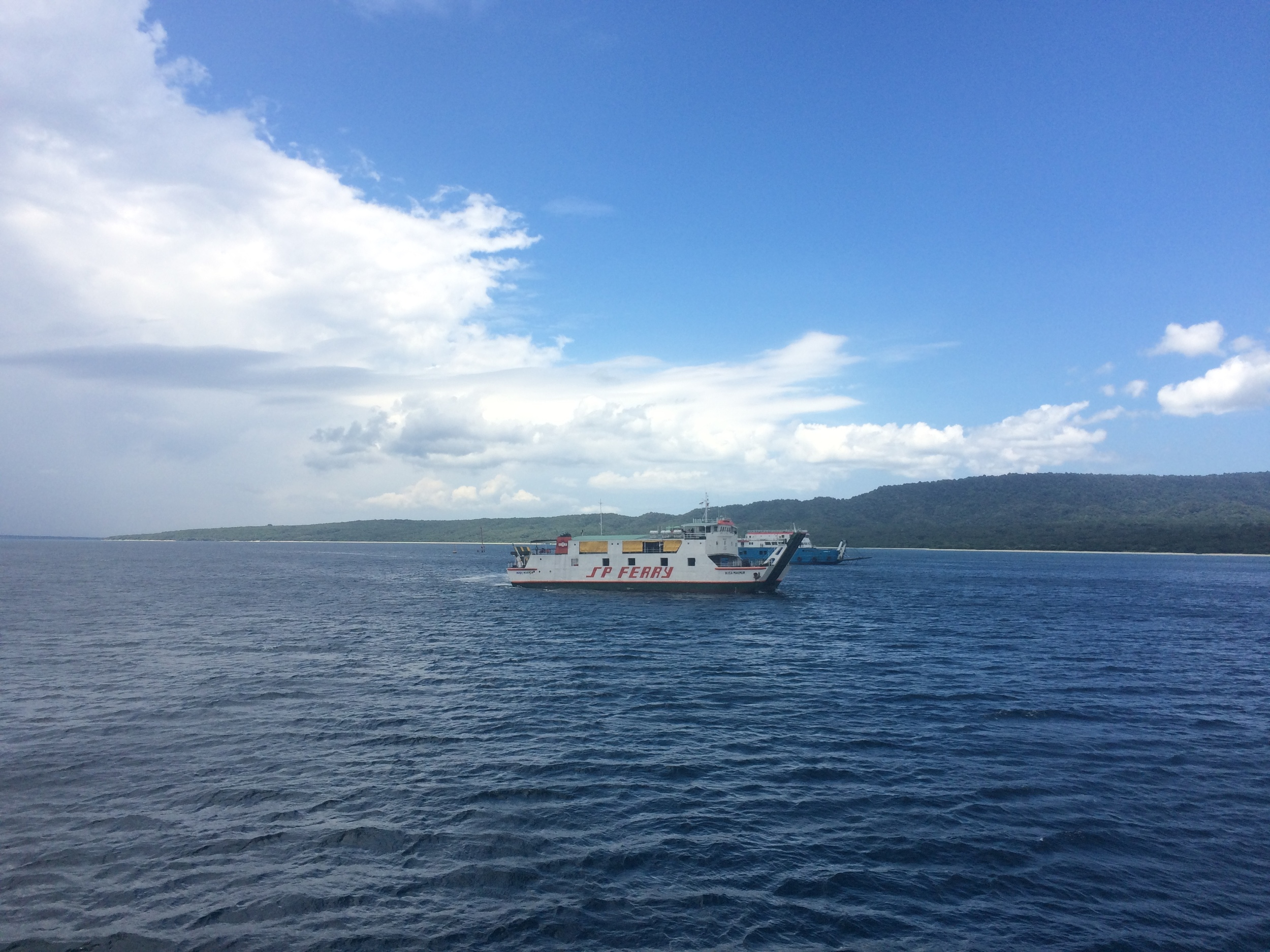 Ferry boat between Bali and Java