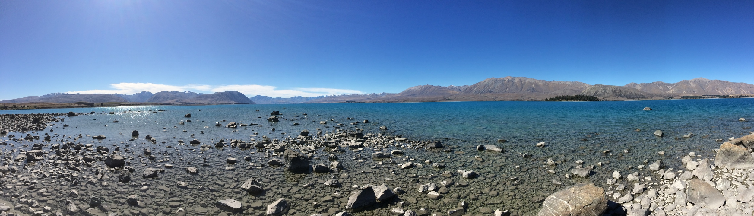 After two more rides I had made it to my first destination - Lake Tekapo