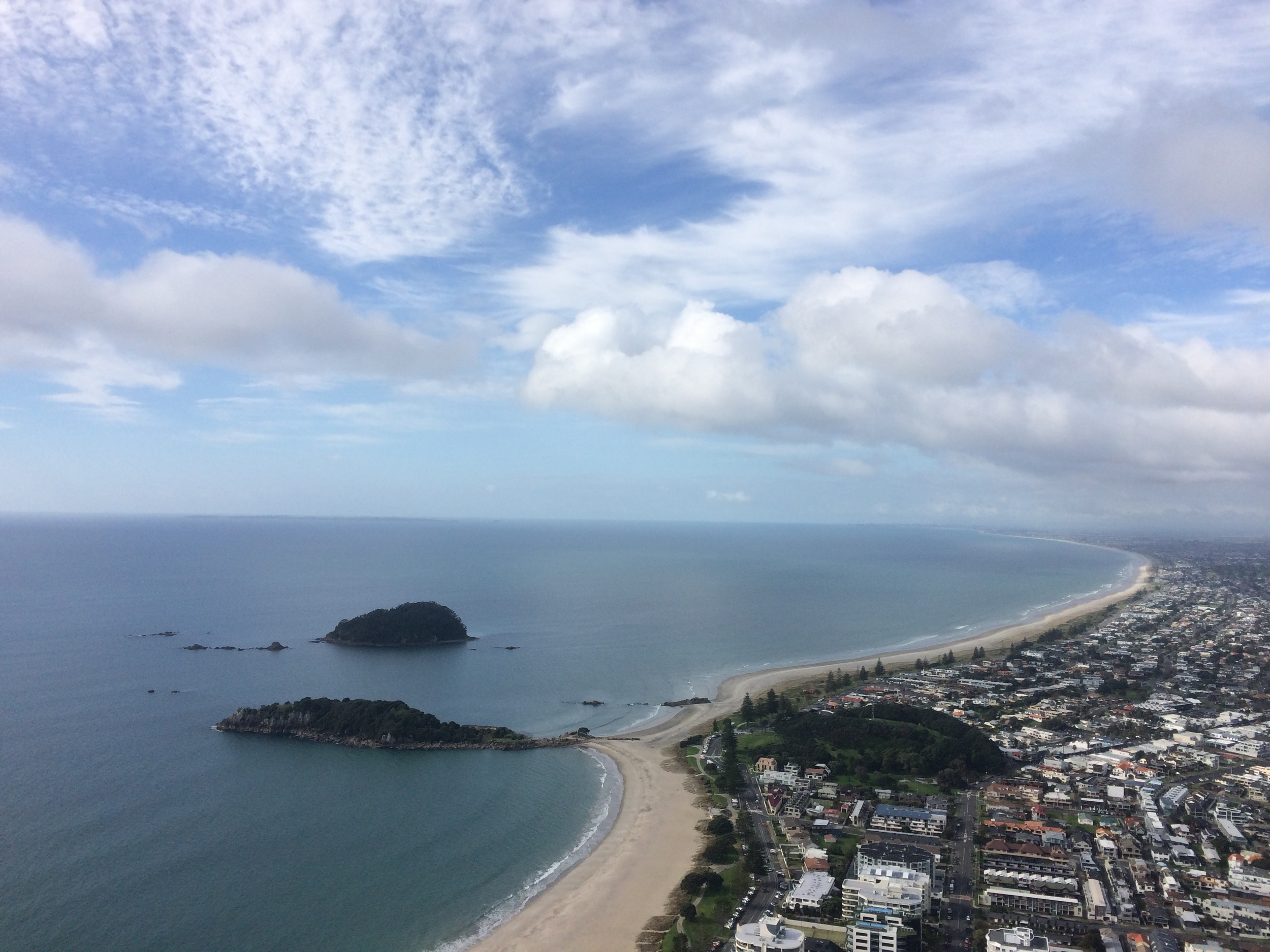 View from Mt. Maunganui