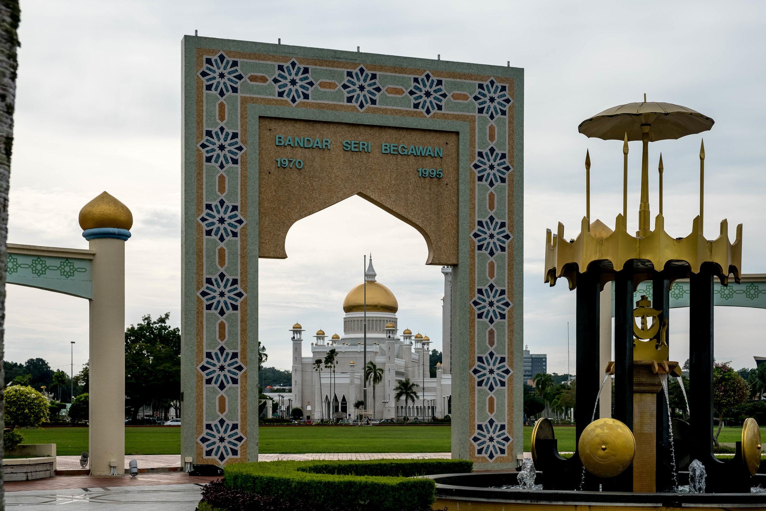 Bandar Seri Begawan - capital of Brunei