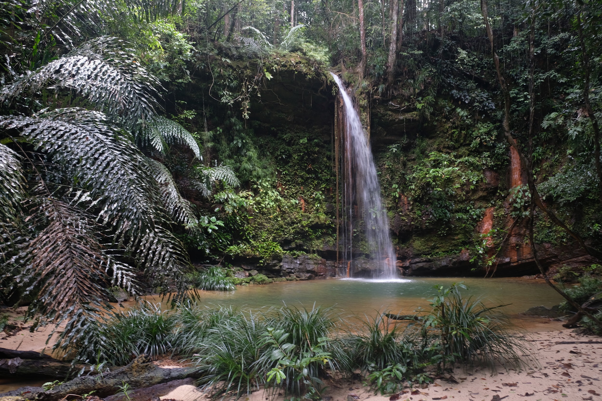 Waterfall in Lambir National Park