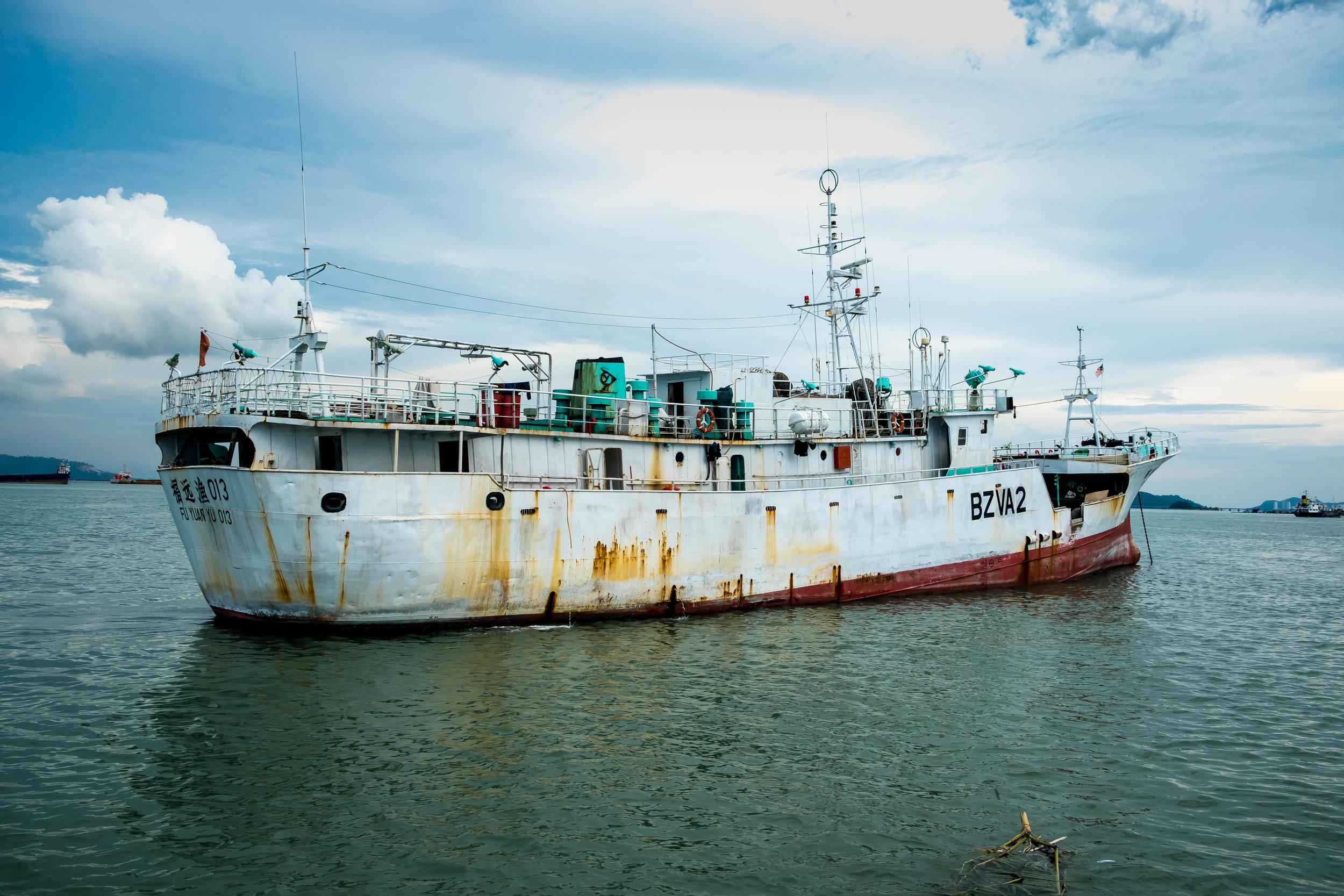 Junkboat in Penang