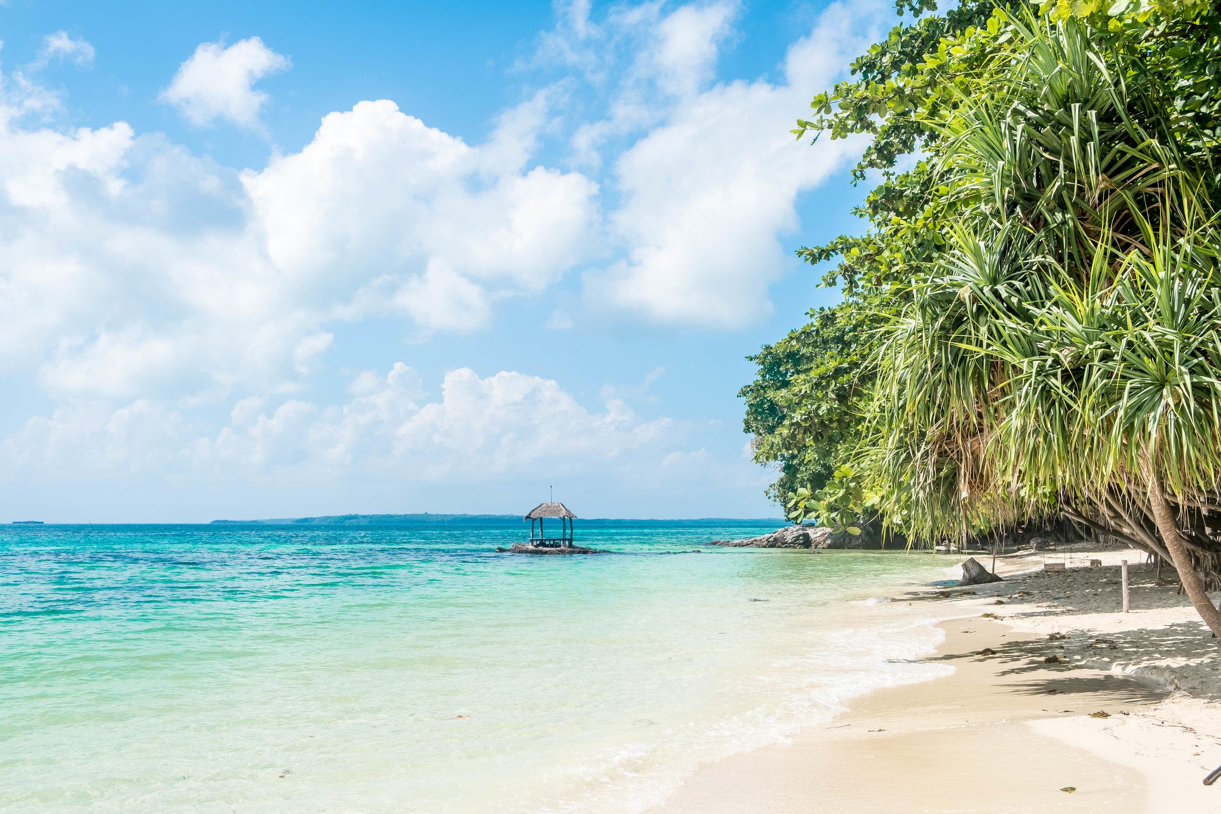 Private beach paradise