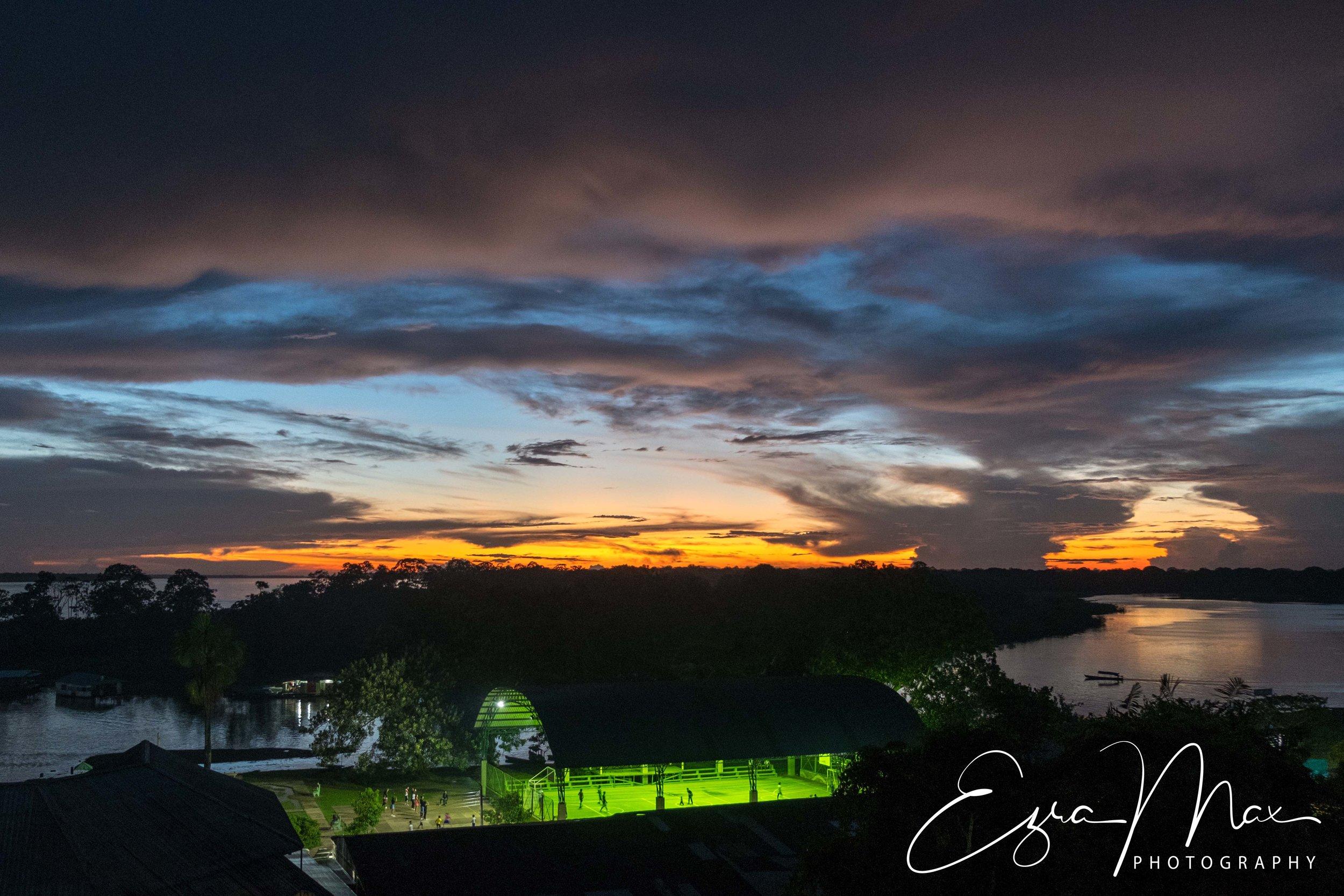 Sunset in Puerto Nariño