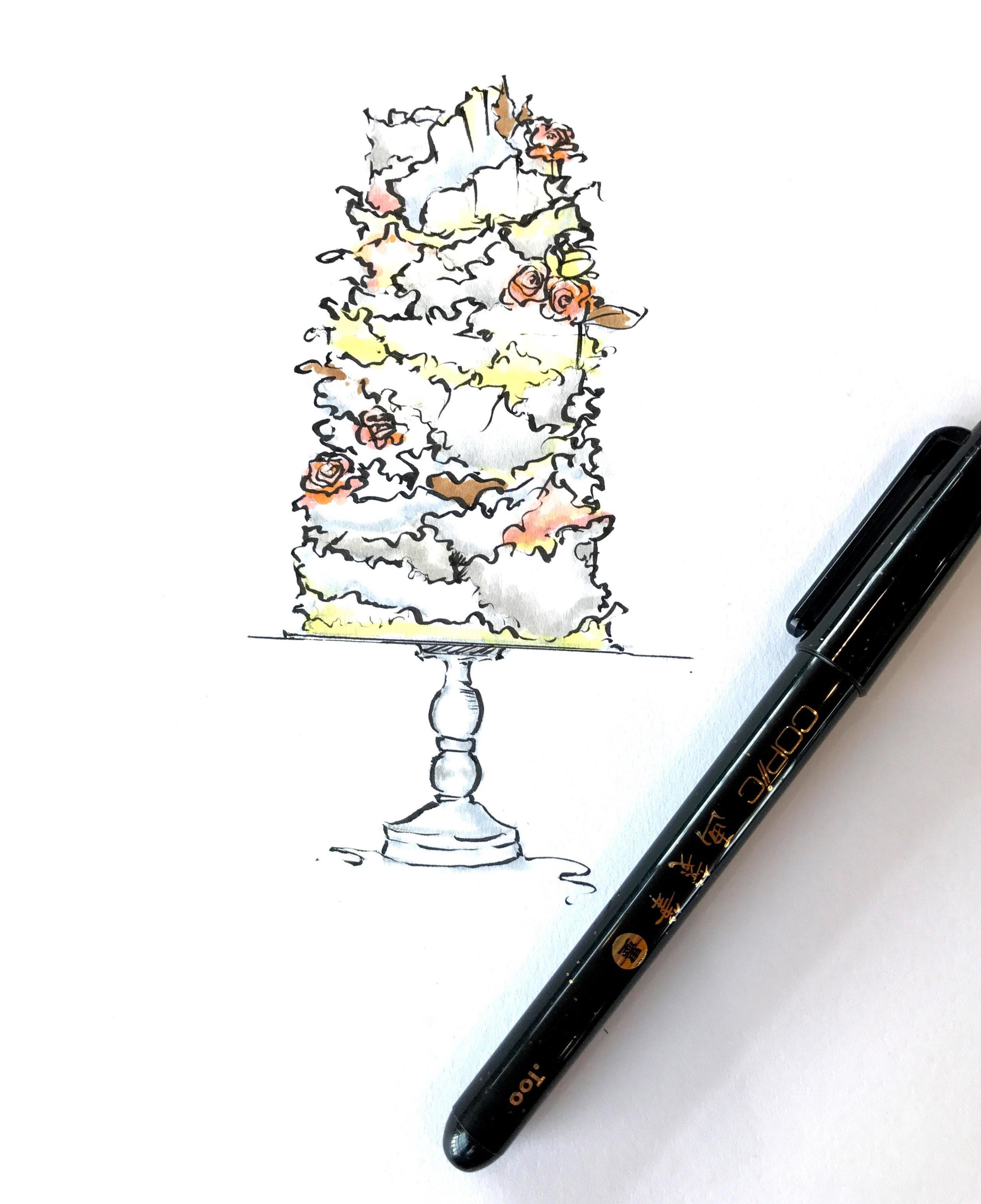 Cake inspiration from   Jasmine Rae Cakes