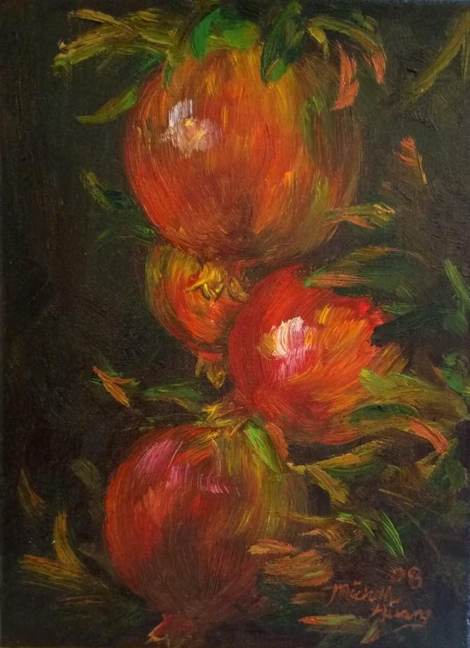 Pomegranates Study