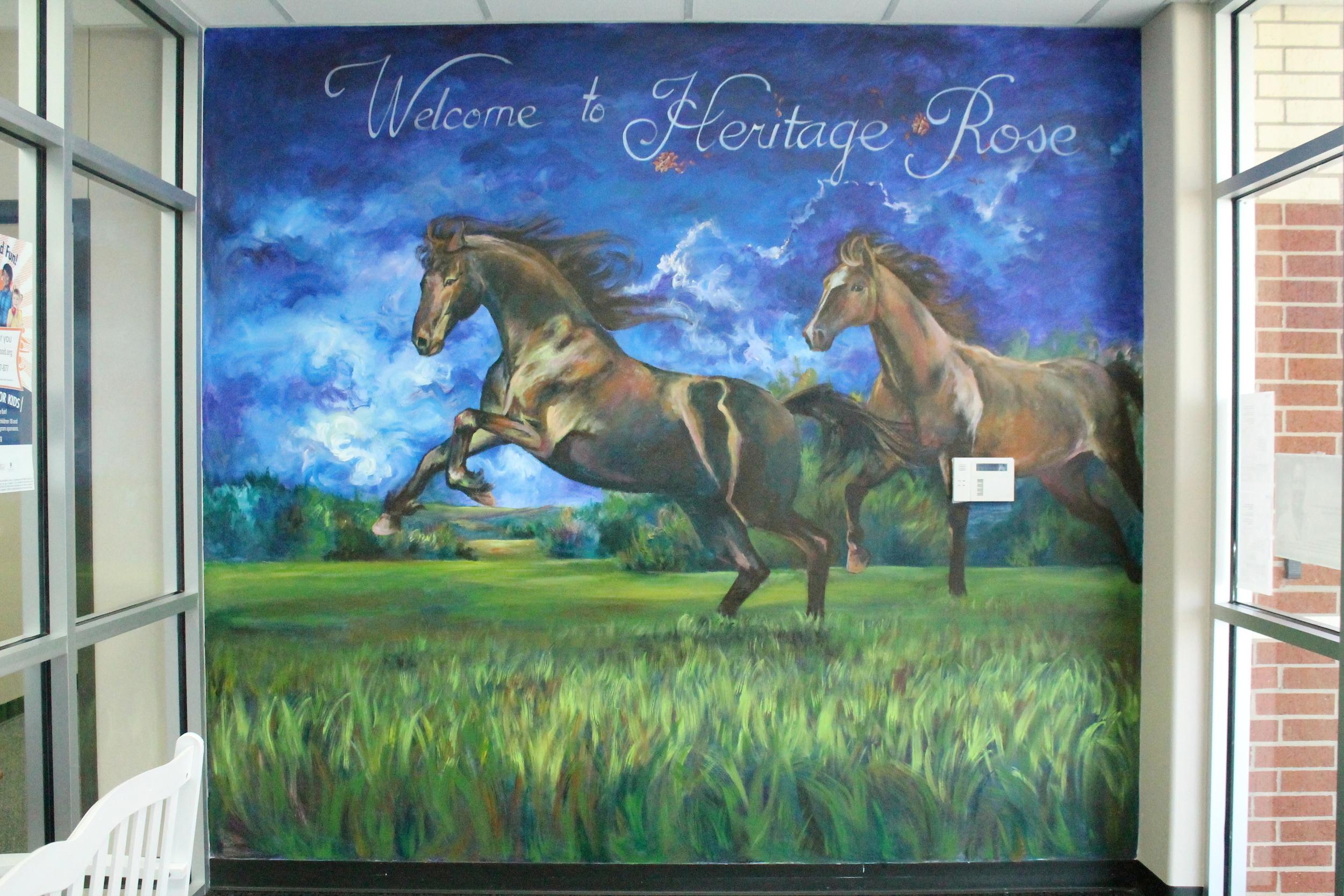 Heritage Rose Elementary Mural