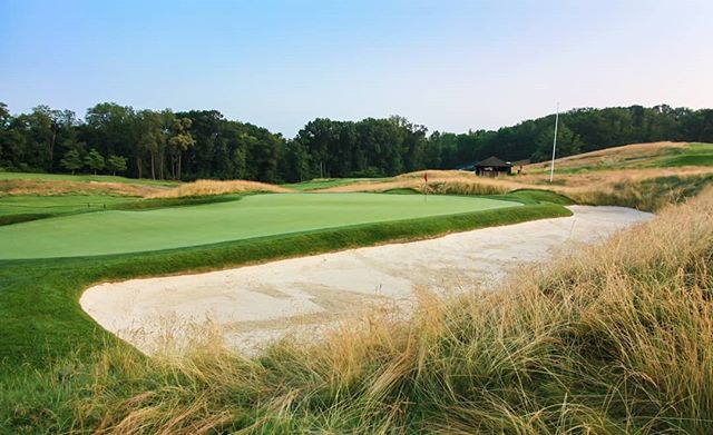 More Oakmont, here is one of my favorite holes, no. 5
