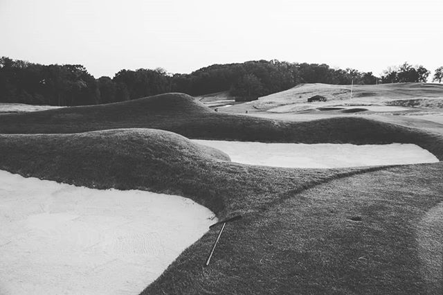 The beehive mound on no.5 at OCC used to annoy me when I worked on the grounds crew in '06. I didn't like the artificiality of the feature, now I love it.