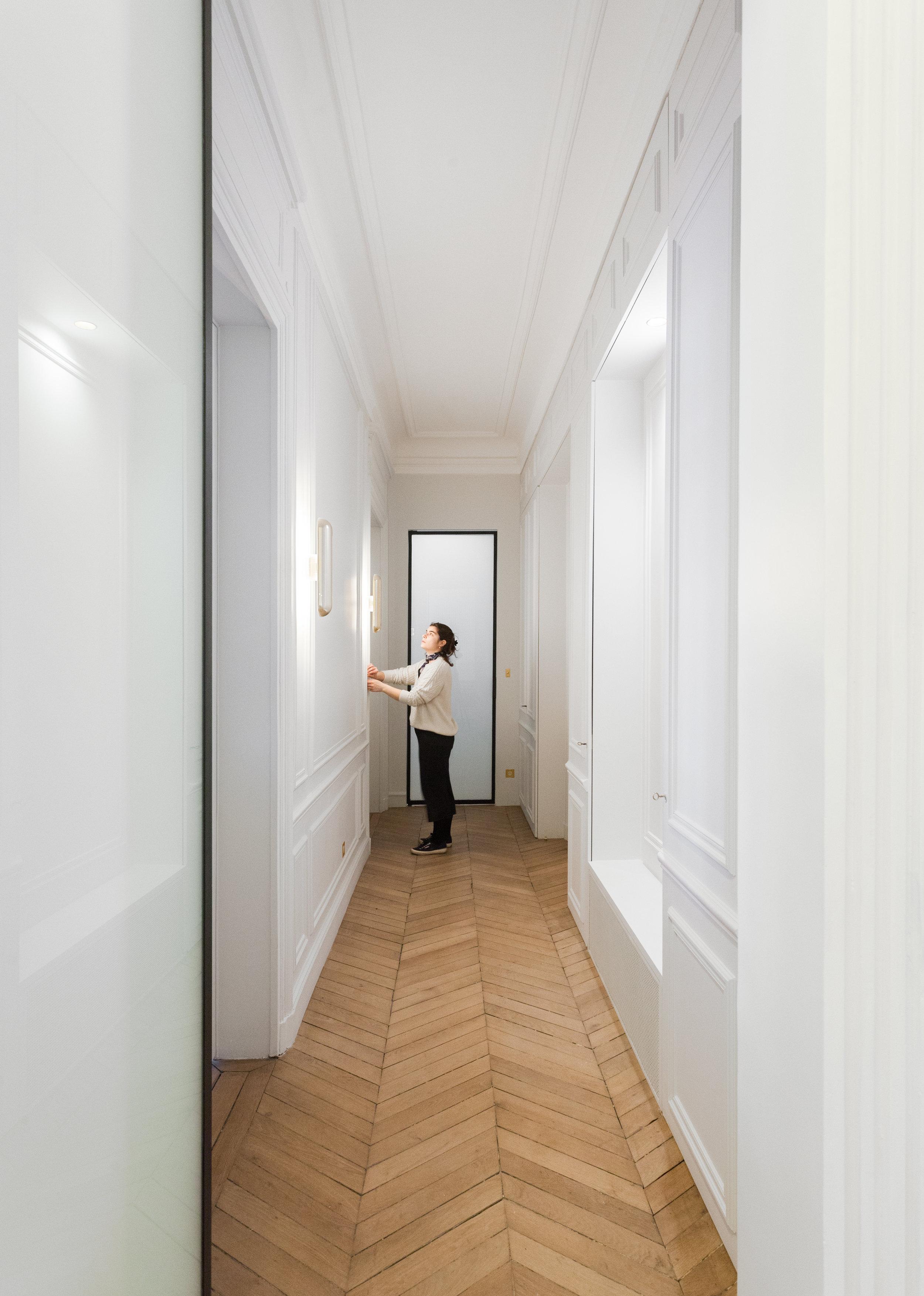 Appartement Haussmannien — Atelier UOA