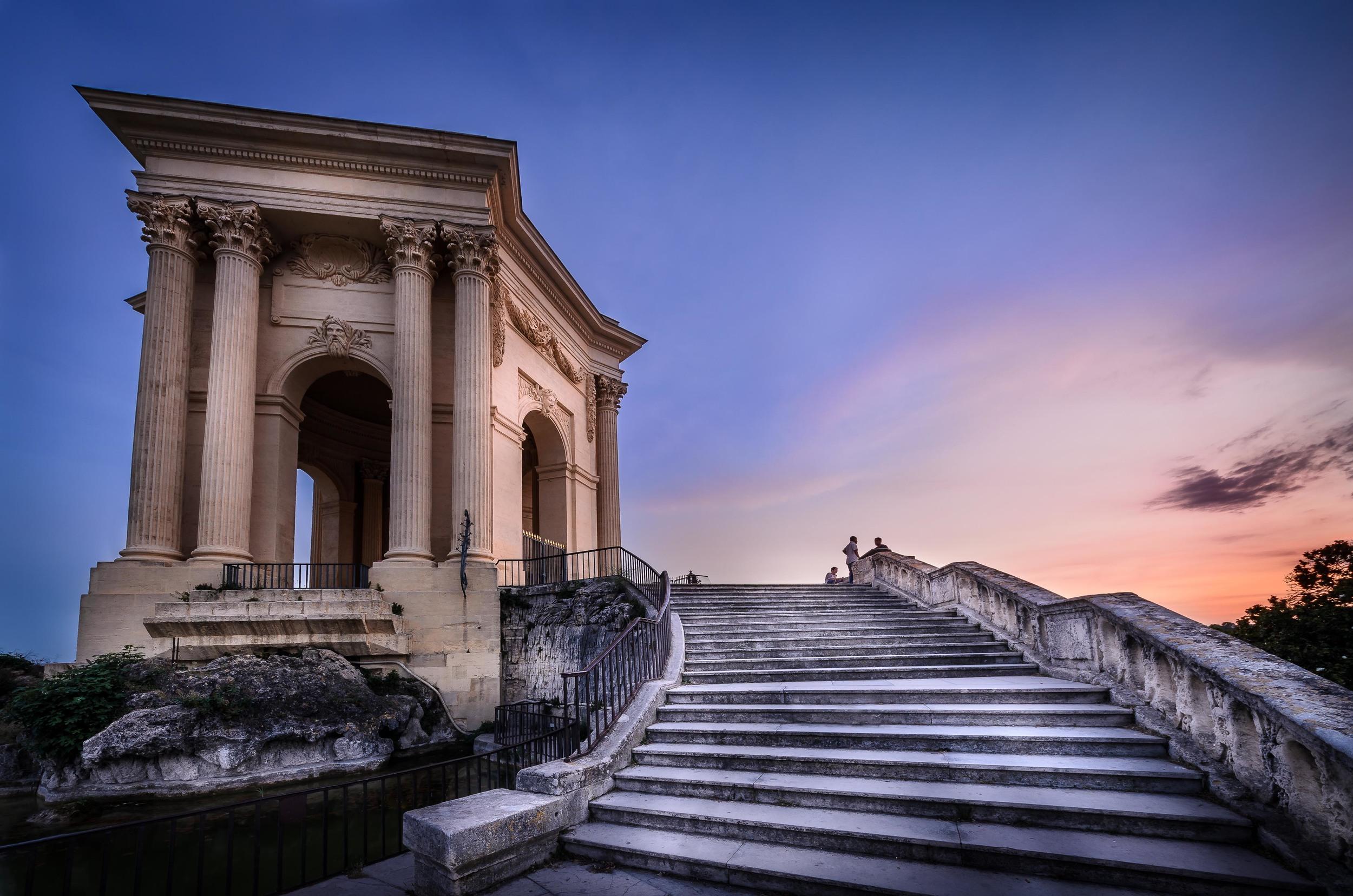 Château d'eau du Peyrou, Montpellier