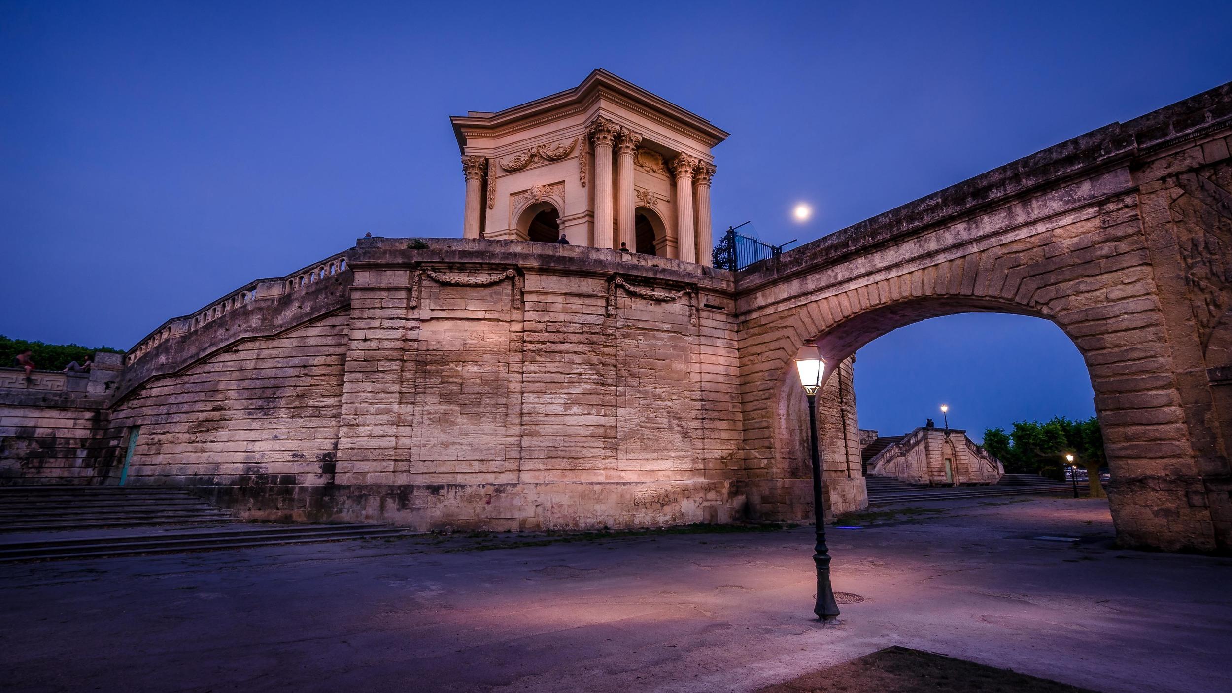 Promenade du Peyrou et Château d'eau, Montpellier