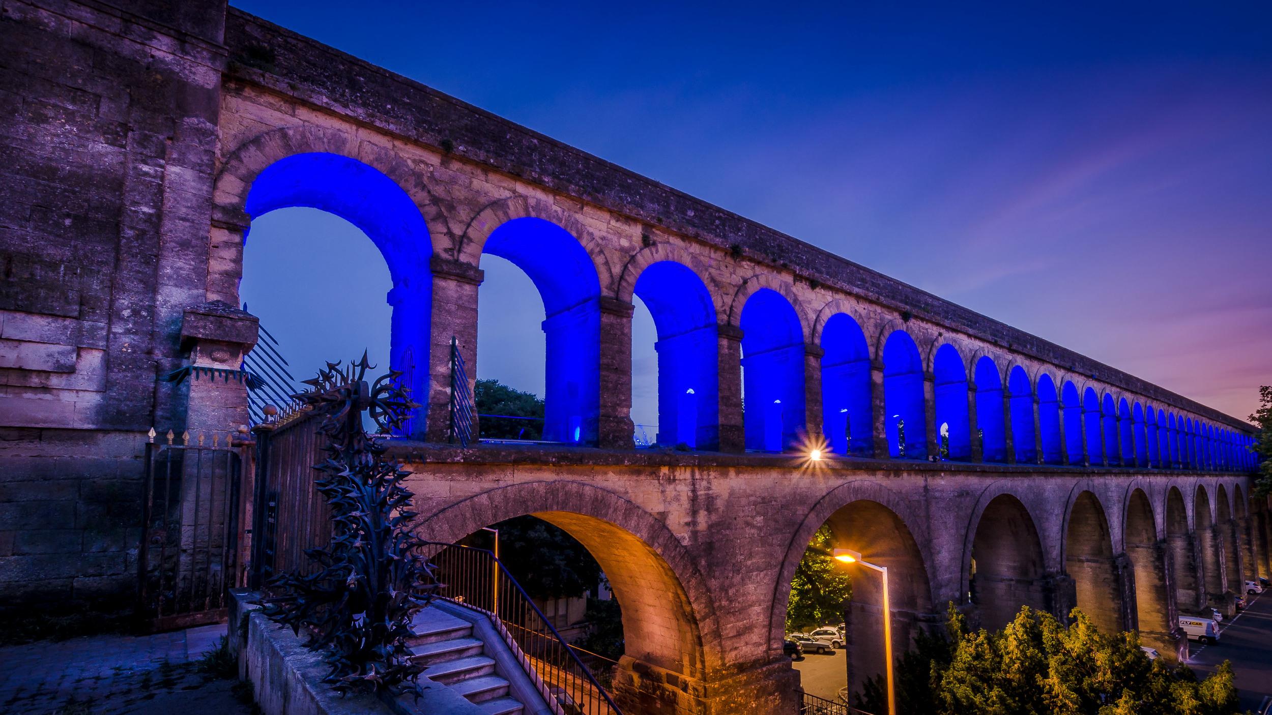 Aqueduc romain, Montpellier