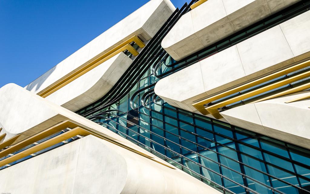 Archives départementales de l'Hérault, bâtiment Pierre Vives © Clément Cousin