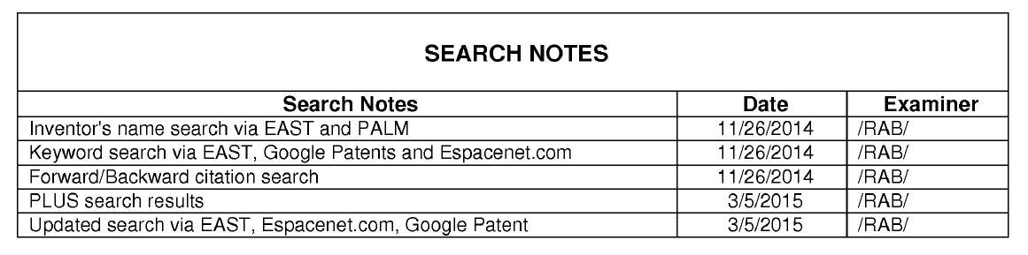 Application No.14/087968 ('591 patent)  March 20, 2015