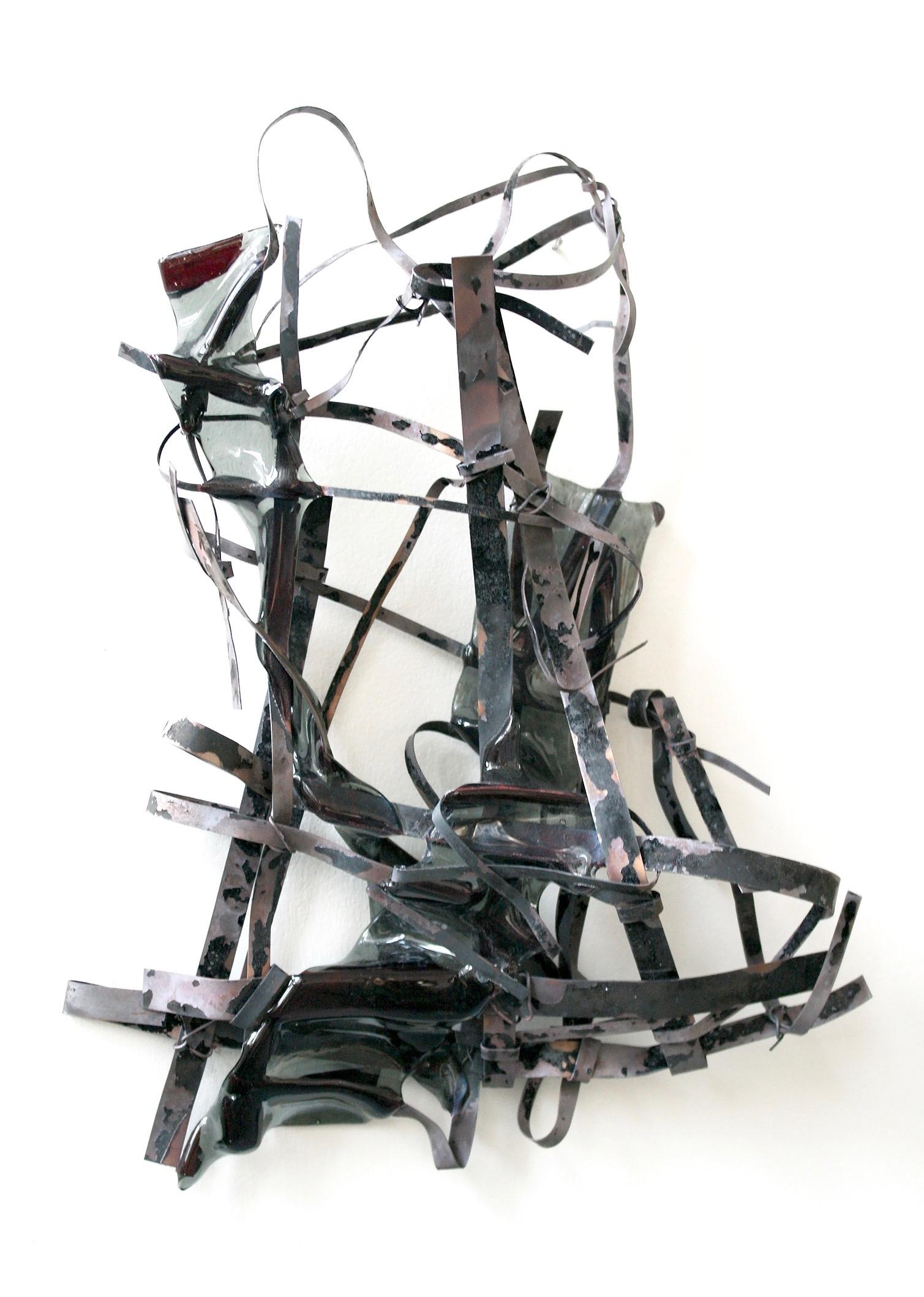 10000 Words Away  Steel & Glass, 2013 26 x 14 x 3 cm