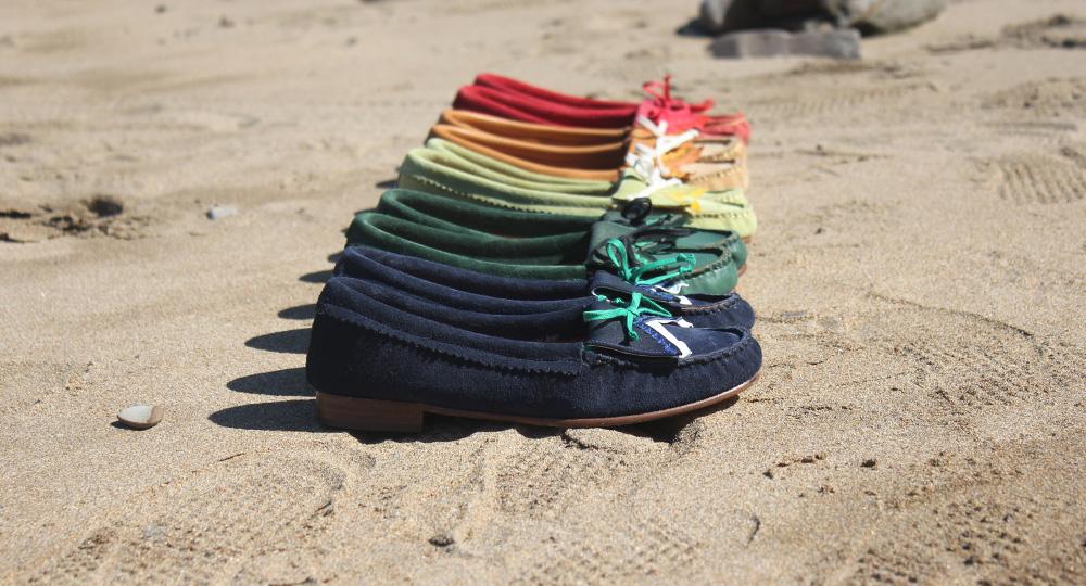 SPRING / SUMMER 2013. Sandy soles, Summerleaze Beach.