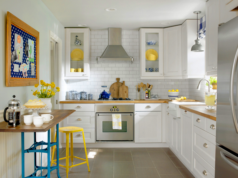 Image courtesy of Better Homes and Gardens Kitchen and Bath Makeovers. Photographer Alise O'Brien