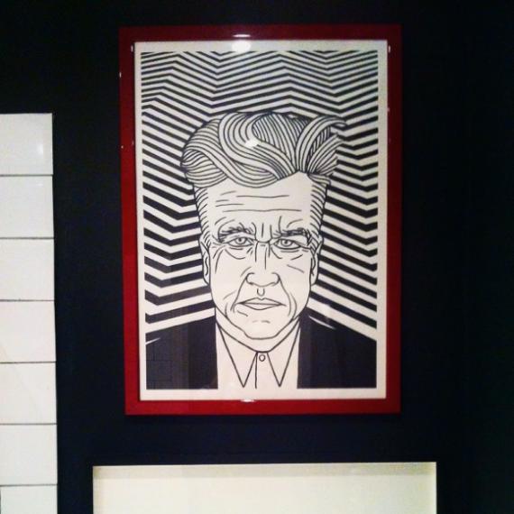 David Lynch print