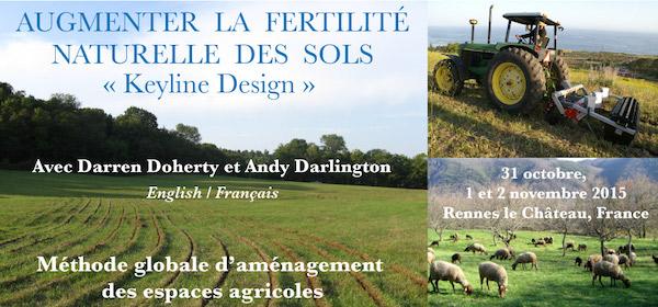Agriculture régénérative Keyline Design Course - Darren Doherty et Andy Darlington
