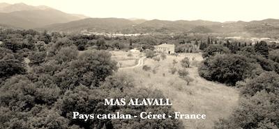 Janvier 2017, rénovation et installation au mas Alavall, Céret, France
