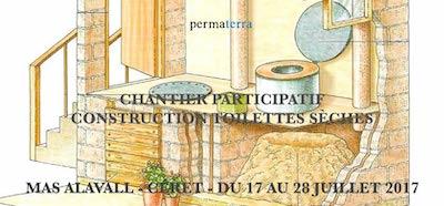 Chantier participatif toilettes sèches, juillet 2017 Vincent Jauneau